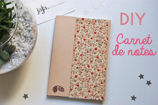 DIY:Carnet de notes