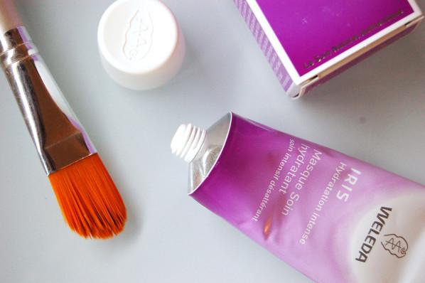 Test Produit // Weleda Masque Hydratant à l'iris