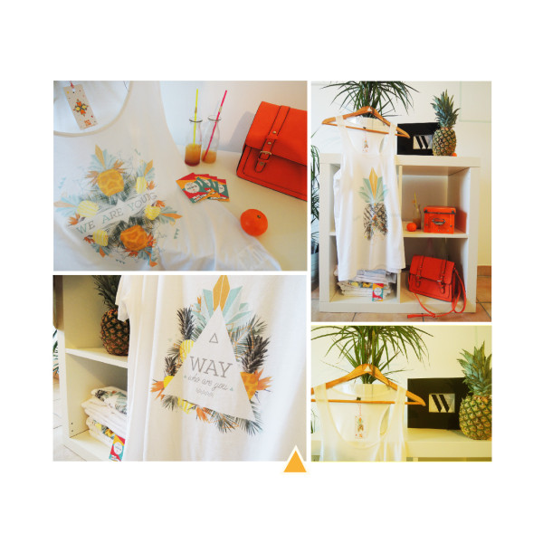 Way / Who are You / Collection t-shirts ananas