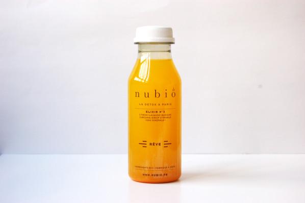 Nubio - Elixirs - Cure Détox - Jus pressés à froid