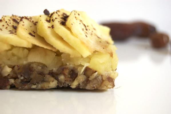 Tartelette aux pommes vegan, sans gluten, sans lait, sans beurre, sans sucre raffiné, sans cuisson