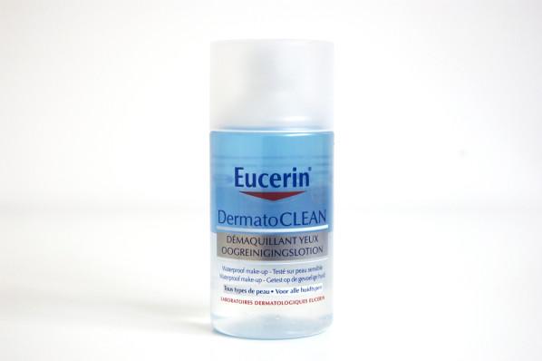 Eucerin Dermatoclean / Démaquillant yeux biphasé