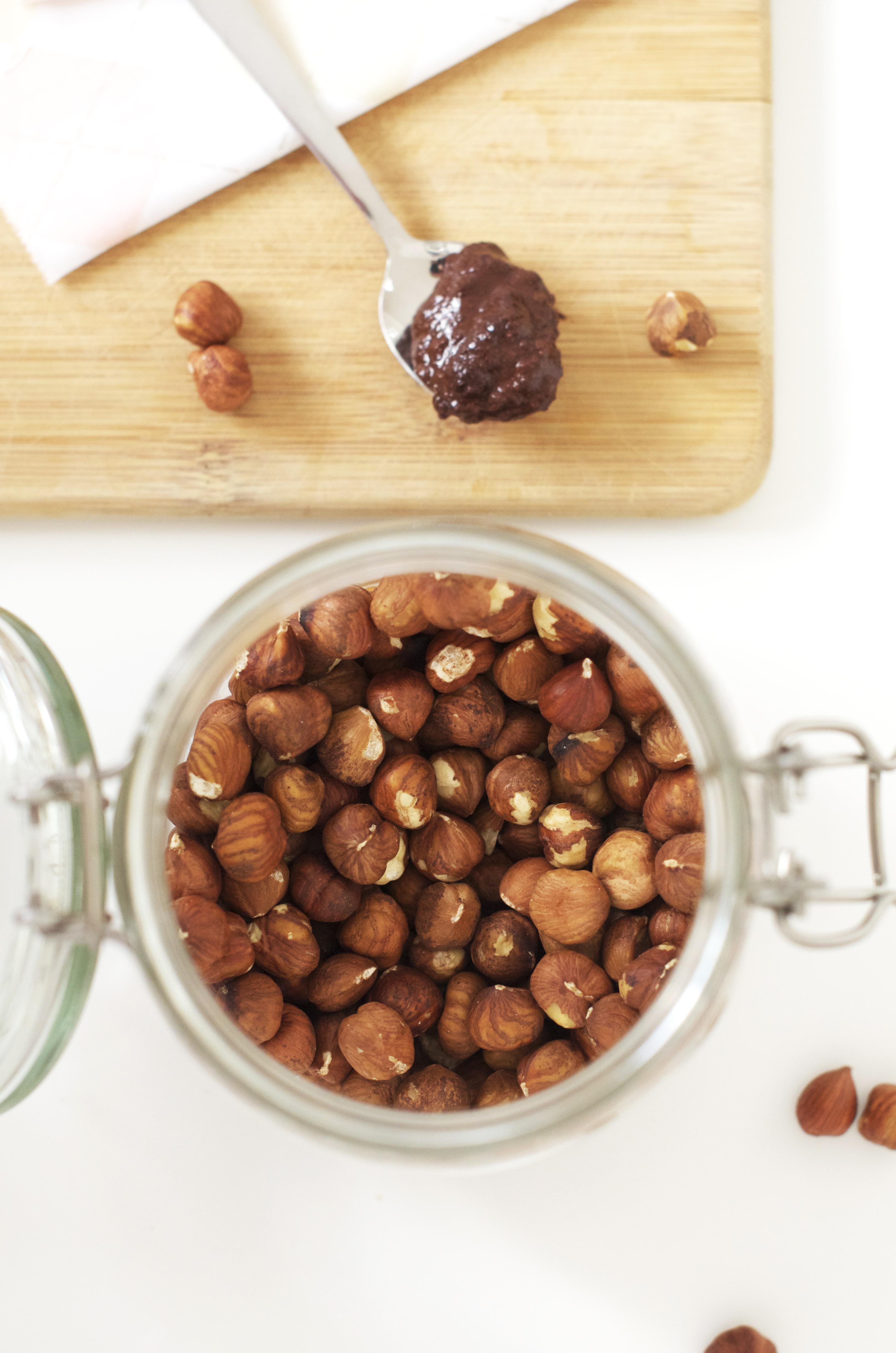 Healthy nutella : vegan, sans gluten, sans cuisson