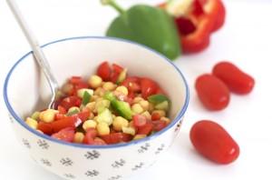 Salade Grecque vegan et sans gluten