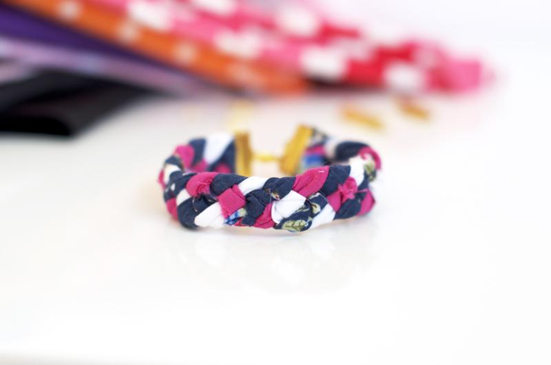 Souvent Diy} Bracelets d'été façon tresse à 4 brins - Sweet & Sour  WS68
