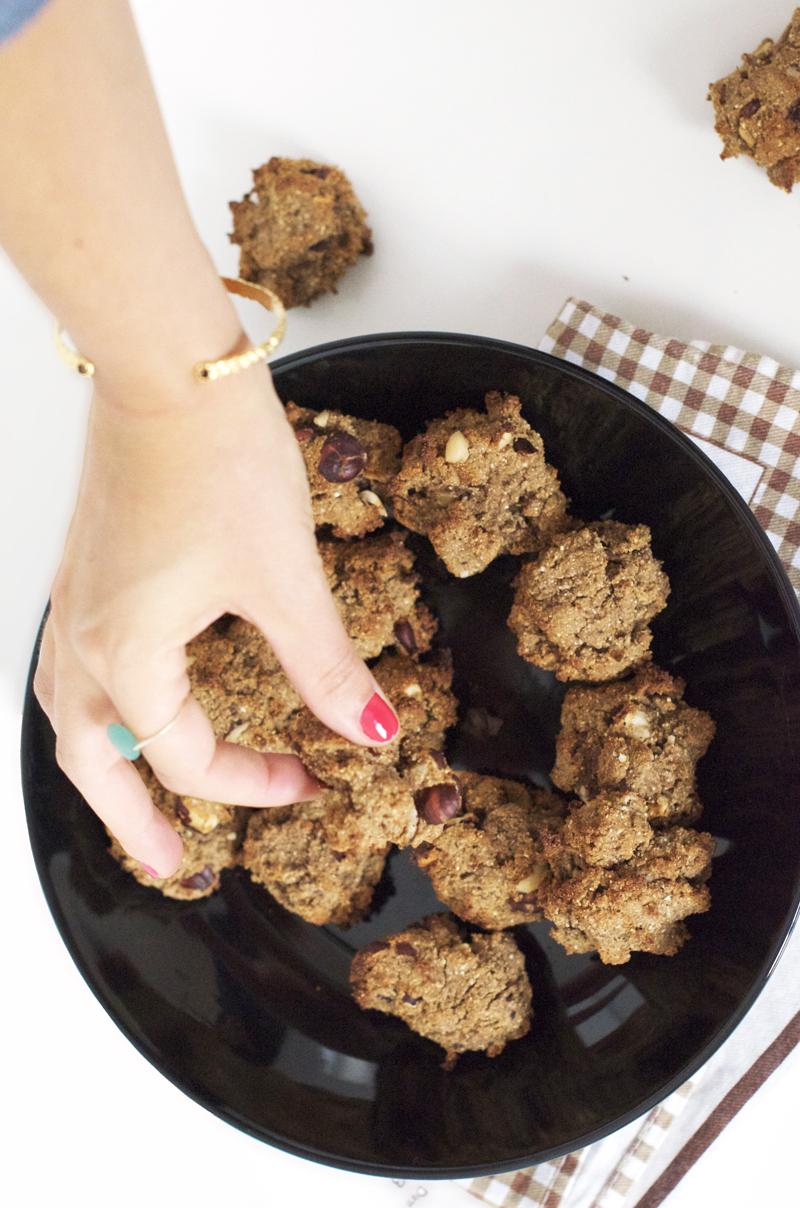 Cookies vegan sans gluten (sans lait, sans beurre)