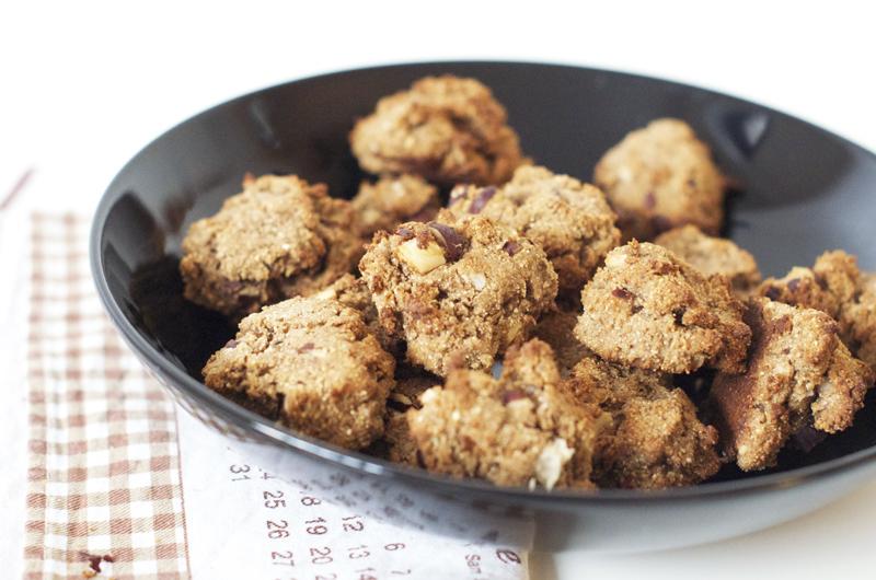 Cookies vegan et sans gluten (sans beurre, sans lait)