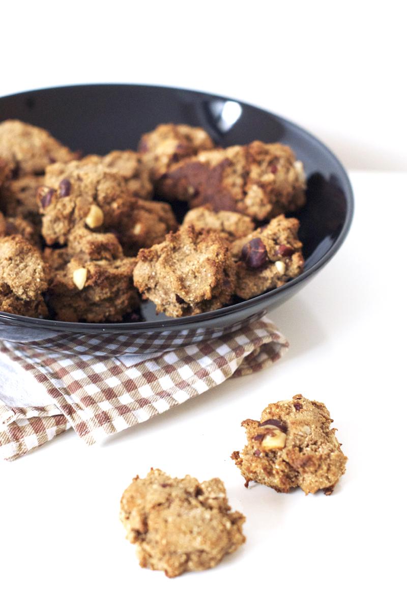Biscuits vegan et sans gluten aux noisettes sweet sour - Dessert vegan sans gluten ...