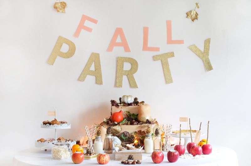 Sweet table Halloween à paillettes