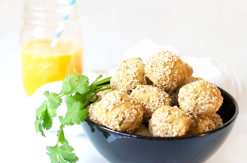 Falafels healthy sans matières grasses (vegan, sans gluten)