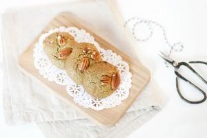 Cookies d'automne à la purée de graines de potiron (sans gluten, sans lait)