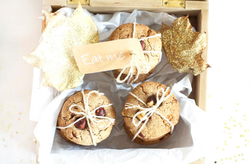 Cookies d'automne vegan et gluten-free