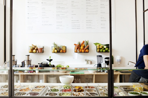 SLA : salad bar in Amsterdam (vegan)