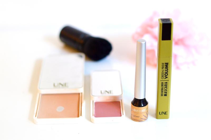 Routine beauté bio et cruelty-free du matin : maquillage Une et Couleur Caramel
