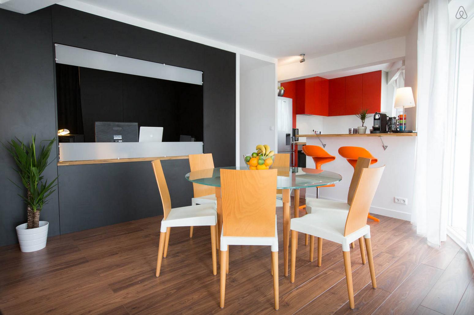 Appartement en plein centre de Bordeaux loué grâce à Airbnb