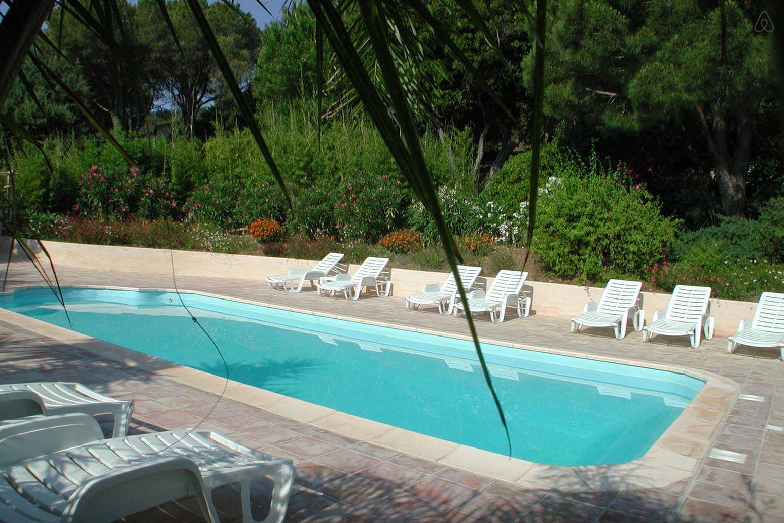 Villa de vacances à Cavalaire-sur-mer sur la côte d'azur loué via Airbnb