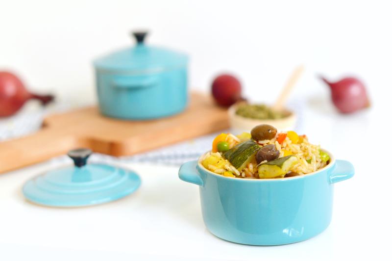 Recette rapide de riz façon méditerranéenne (vegan, sans gluten)