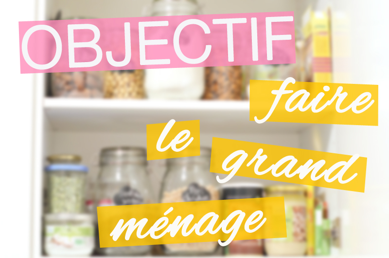 To do list printemps : objectif faire le grand ménage