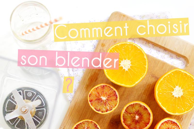 Omniblend : comment j'ai choisi mon blender