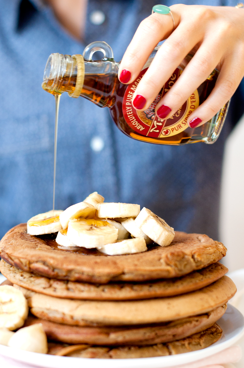 Cook & Blog : les blogueuses cuisinent vegan - recette de pancakes vegan et sans gluten
