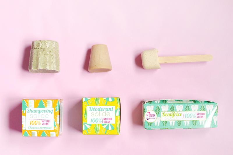 Les cosmétiques solides, c'est mieux : shampoing, dentifrice et déodorant solides de la marque vegan et cruelty-free Lamazuna