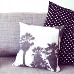 Coussin palmiers palmtrees Small Couture