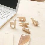 Clés USB animaux en bois
