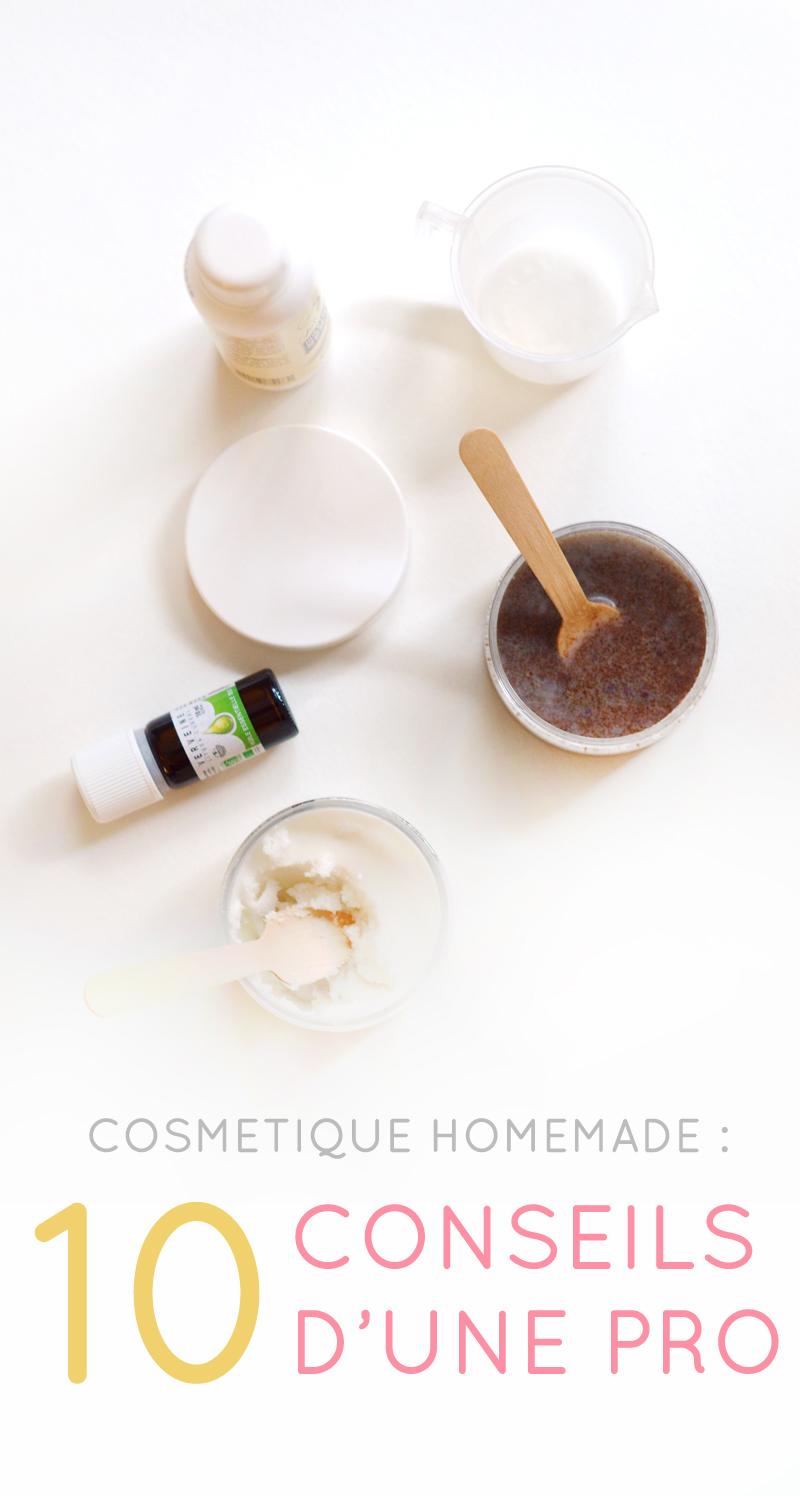 cosmétique homemade : 10 conseils d'une pro avec Fanny de Joli'Essence