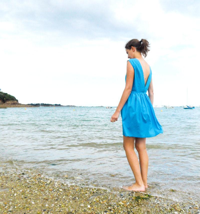 Robe sur mesure // Atelier Charlotte Auzou