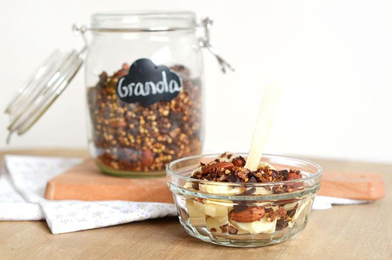 Granola homemade pour un petit déjeuner gourmand, healthy et complet