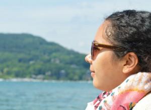Mon amie est devenue vegan et ça a changé ma vie : photo prise au lac d'Annecy