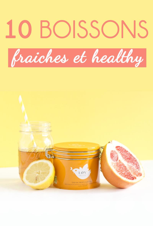 Summer drinks : 10 boissons fraiches et healthy à siroter tout l'été ! Crédit photo : www.paperboat.fr