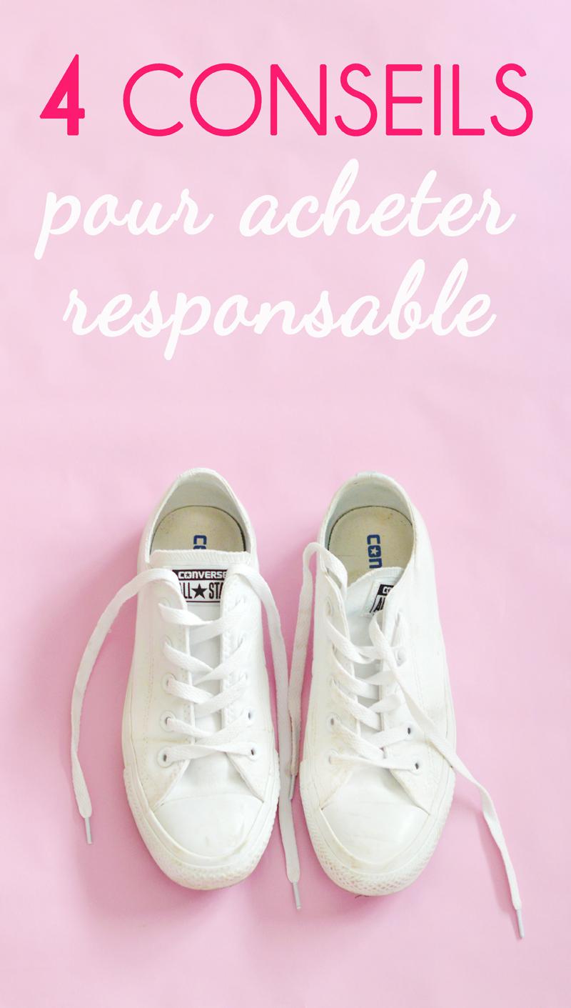 4 conseils pour acheter responsable avec Emilie du blog Dressing Responsable