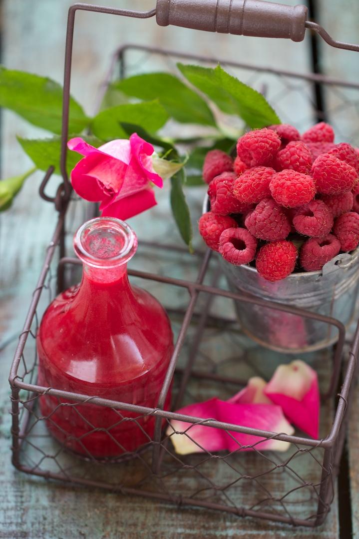 Boisson d'été : kir de kombucha par Ellen du blog Saveurs Végétales