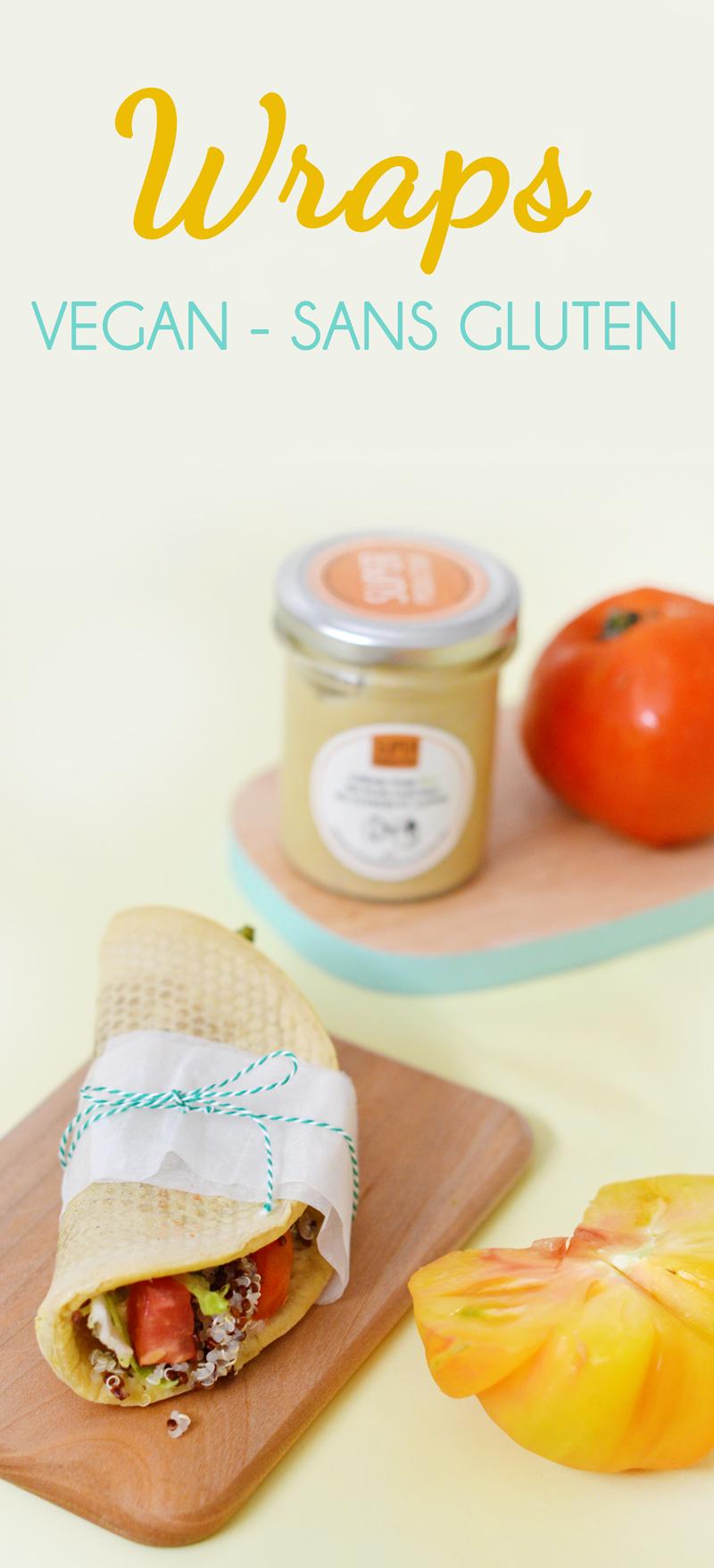 Une recette simplissime et pratique + la découverte des tartinades Superproducteur // Wraps vegan et sans gluten aux légumes et au quinoa