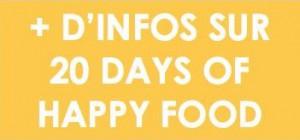 20 days of Happy Food