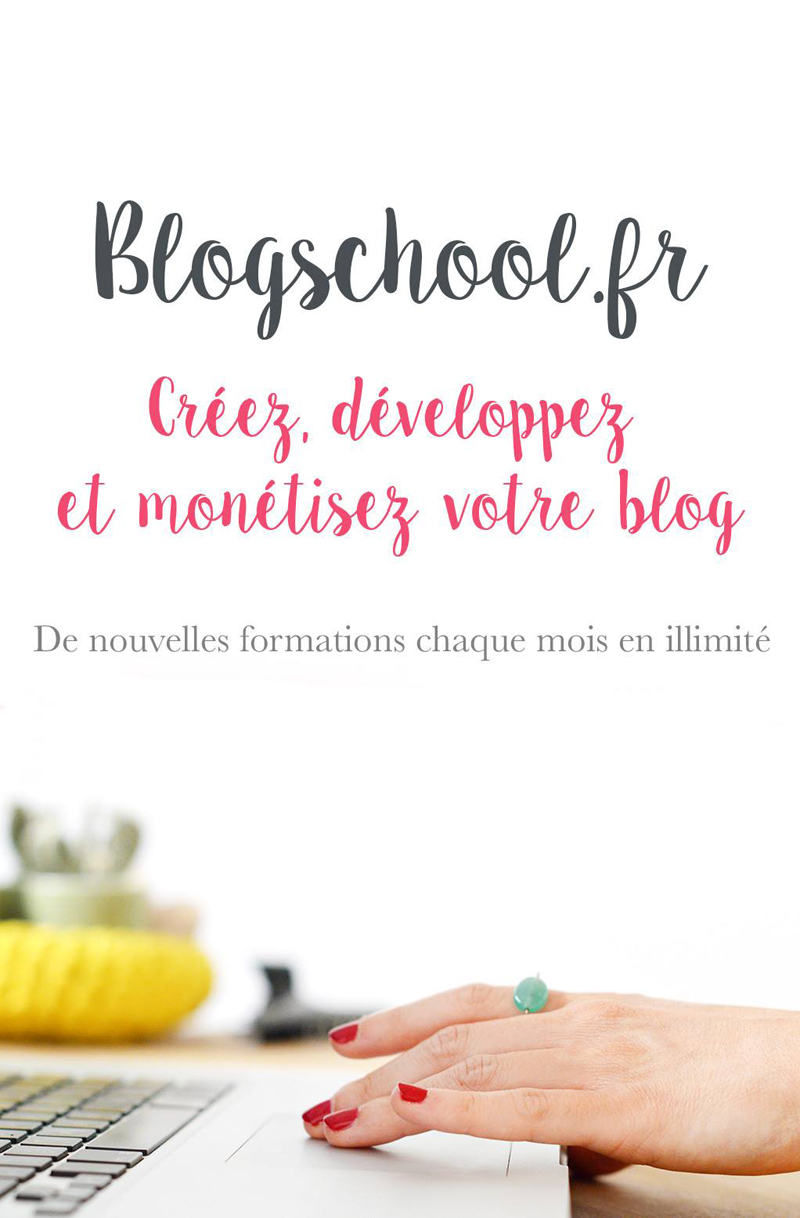 Oh my Blog! présente Blogschool.fr : des formations en ligne pour apprendre à créer, développer et monétiser son blog !
