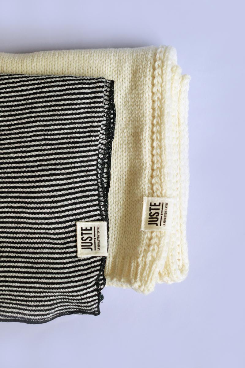 Juste, La Révolution Textile : écharpes 100% laine mérinos d'Arles