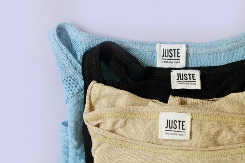 Juste, La Révolution Textile : pulls 100% lin
