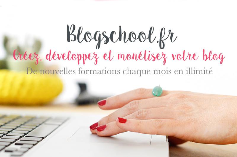 Blogschool.fr : apprendre à créer, développer et monétiser son blog