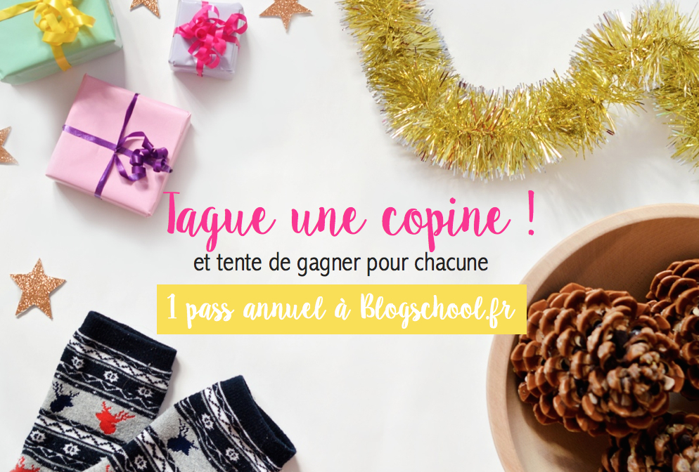 Oh my Blog! Blogschool.fr : concours de Noël
