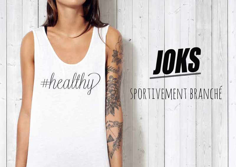 JOKS Clothing : la première marque sport stylée, urbaine pour le running et le fitness !