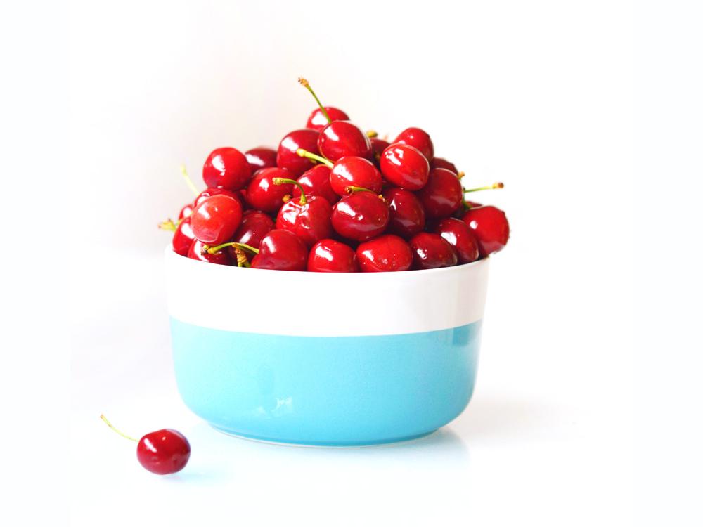 Idées de snacks healthy : un bol de cerises dès que l'été arrive !