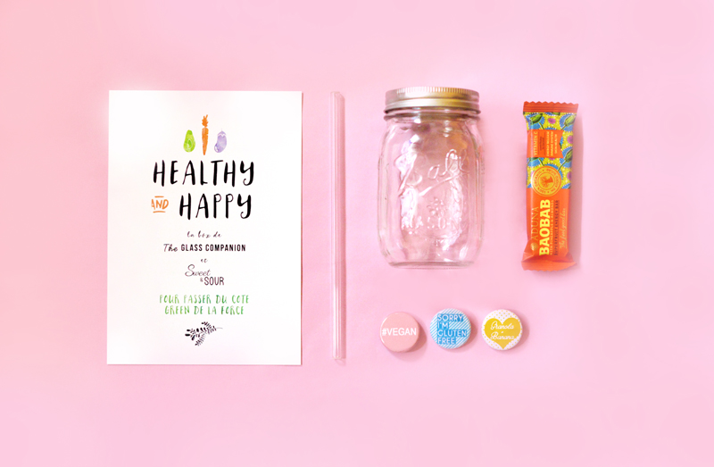 Healthy & Happy : La box de The Glass Companion x Sweet & Sour