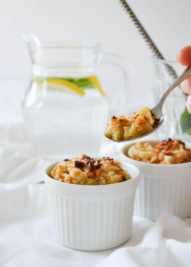 Pommes au four croustillantes by Emmanuelle du blog Des fruits et des légumes
