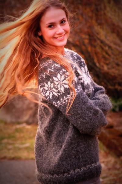 J'ai découvert cette petite boutique sur Etsy. Sa créatrice, Agga, vit en Islande et son truc, c'est le tricot ! D'ailleurs, tous les articles de sa boutique (pulls, bonnets, headbands) sont tricotés avec amour par ses petits doigts de fée et sont 100% laine islandaise !