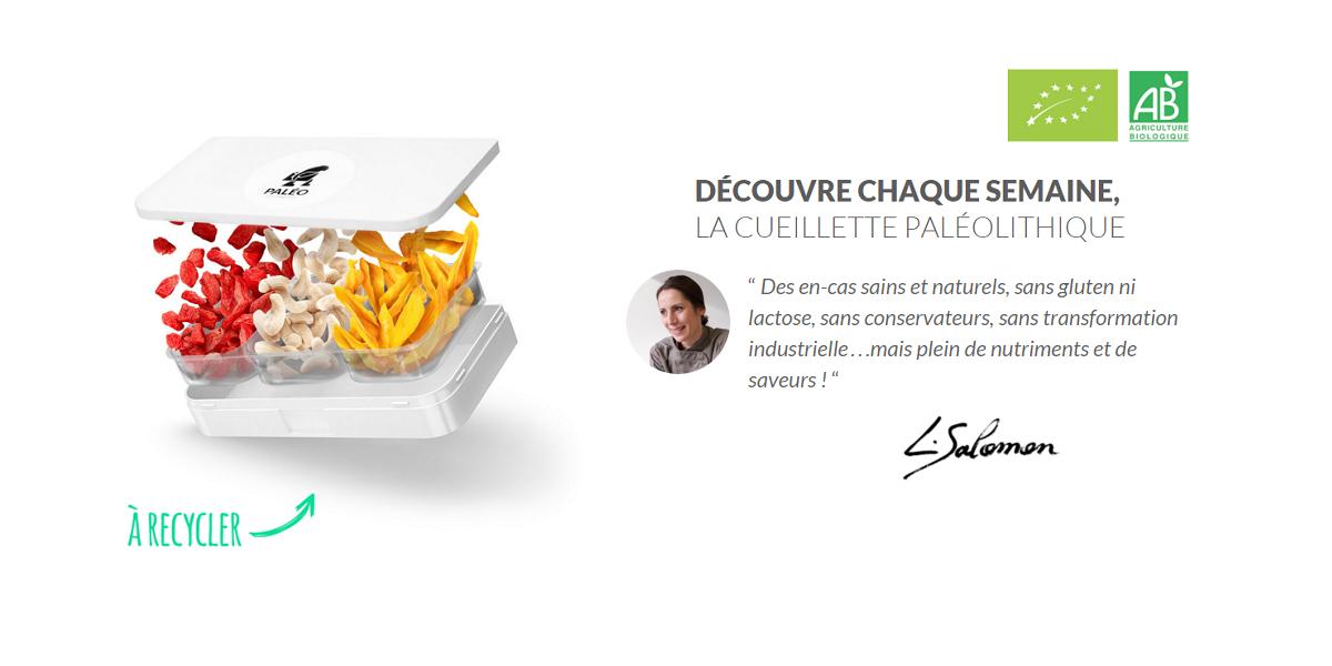 Paleo toi même : Abonnement hebdomadaire de petits fruits secs bio sélectionnés par la chef bio Laurence Salomon