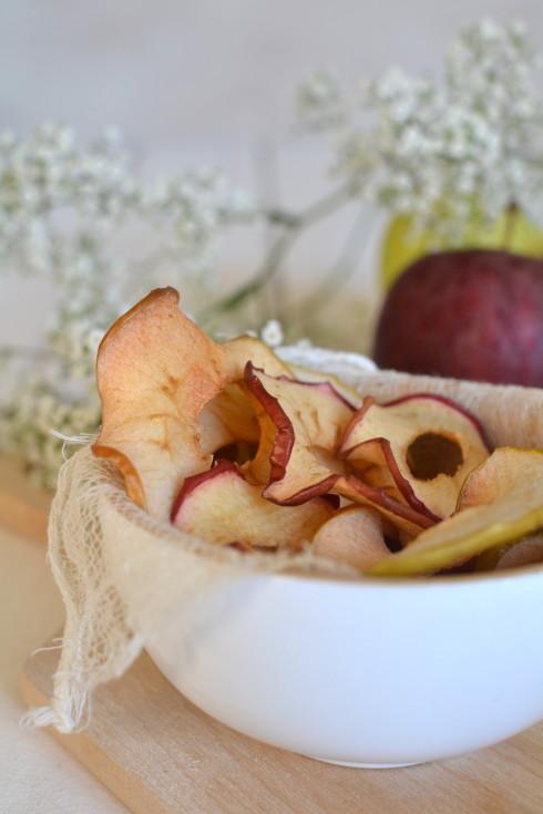 Chips de pommes by Juliette du blog Les recettes de Juliette