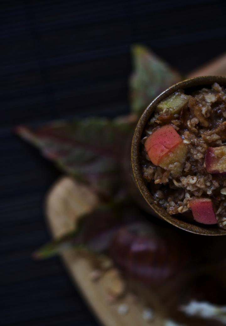 Porridge d'automne (vegan, sans gluten) by Ellen du blog Saveurs végétales