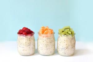 Porridge prêt en 3 mn (vegan, sans gluten) + idées de toppings